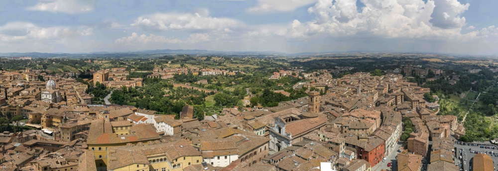 Siena Italy Panorama Beautiful places around the world