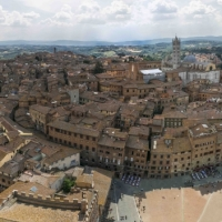 Siena Italy Panorama 2 Beautiful places around the world