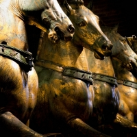 Horses Doge's Palace Travel Photography Makarova Elena